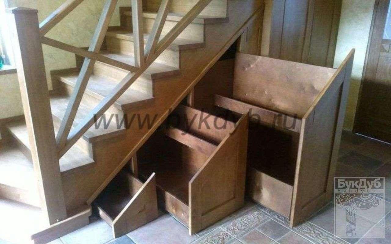 Лестница ящиков своими руками 16